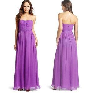 BCBGMAXAZRIA Amber Purple Dress - Size 00